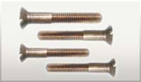 Silicon Bronze Slotted Flat Head Machine Bolts
